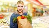 Fototapeta konsumentów - jedzenie - Sklep / Rynek