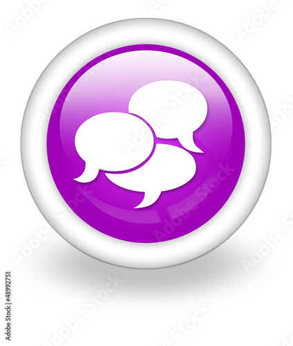 "Violet Icon ""Chat"""