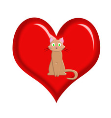 Кот в сердце
