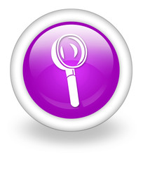 "Violet Icon ""Magnifying Glass / Search"""