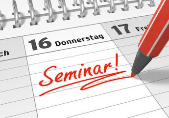 Terminkalender: Seminar