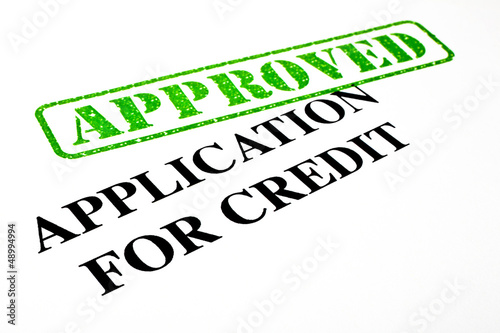 Approved Application For Credit