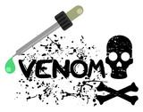 Venom dead design poster