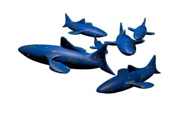 Euro crisis loan shark 3D