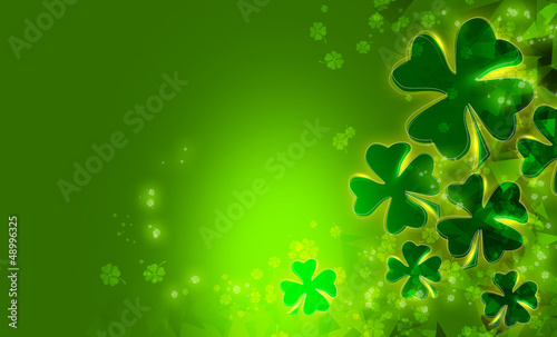 canvas print picture st patrick's day background