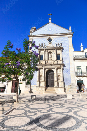 Igreja da Misericordia Church and tree. Aveiro, Portugal