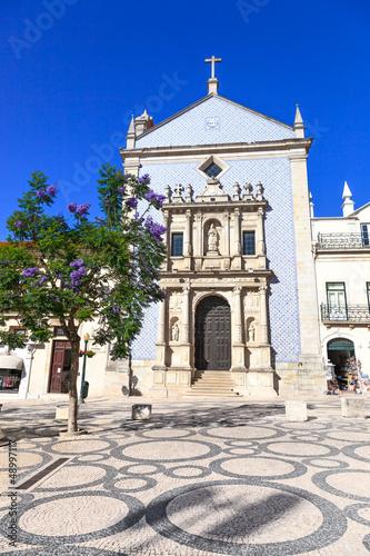 Igreja da Misericordia Church and tree. Aveiro, Portugal