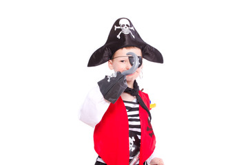 Pirat mit Hakenhand