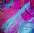 abstract violet painting by oil on a canvas,  illustration, back