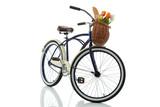 Fototapety Beach cruiser with basket