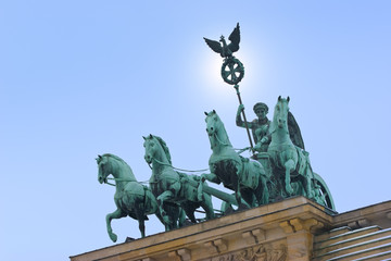 Quadriga, Berlin, Brandenburger Tor