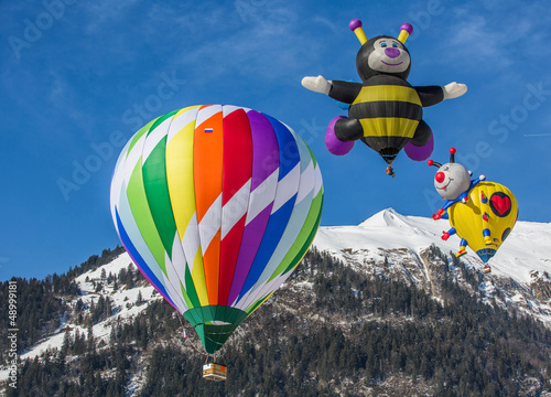 Poster Ballon 2013 35tth International Hot Air Balloon Festival, Switzerland,