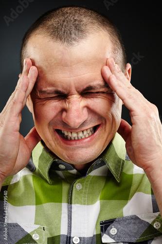 Strong migraine