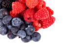 Fototapete Hintergrund - Beere - Obst