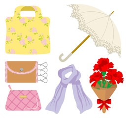 Mother's Day gift, clothing and accessories
