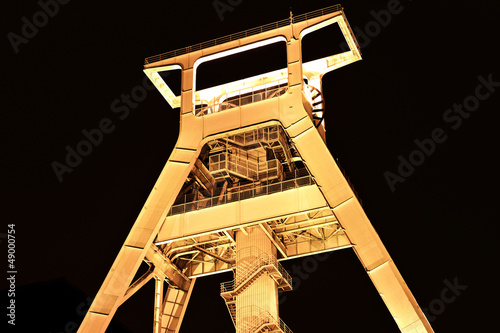 Coal Mine Head Tower