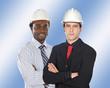 Couple d'ingénieurs