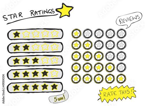Star Ratings Sketch