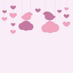 St Valentine`s day card