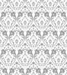 Traditional seamless silver wallpaper