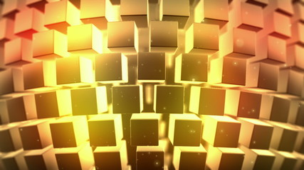 Gold background, loop seamless, animation