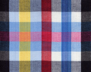 Square fabric pattern background