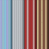 Knitting patterns, set of seamless textures