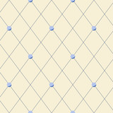 Fototapety Bright beige diamond shape geometric seamless pattern, vector