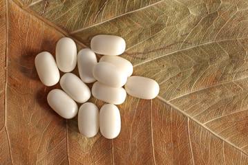 Bunch of alternative medicine pills