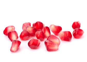 Pomegranate seed pile