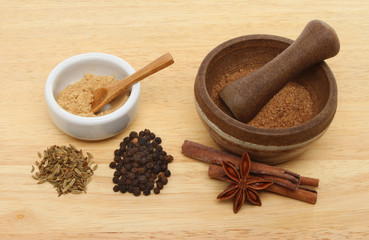 Chinese five spice ingredients