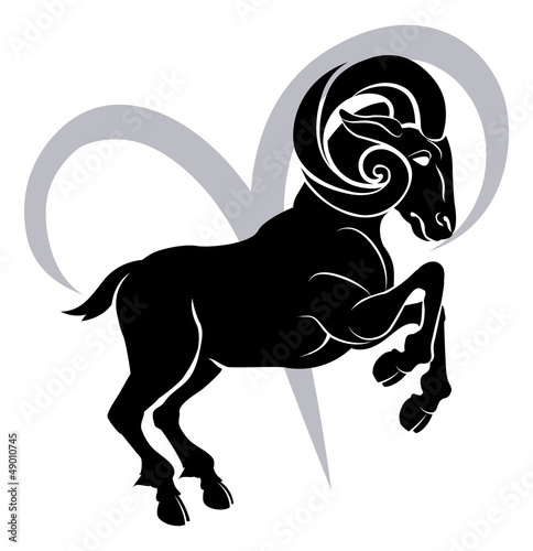 Aries zodiac horoscope astrology sign