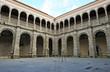 Claustro gótico, Conventual Santiaguista, Calera de León