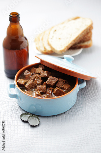 goulash with beef and beer