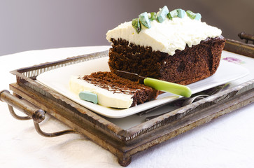 Amaranth Chocolate Brownie Cake