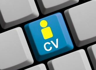 CV - Lebenslauf online