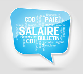 Bulle : Salaire