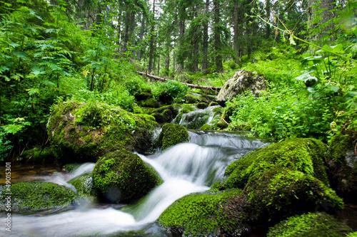 Fototapeten,landschaft,fluß,strömen,berg