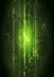 Dark green hi-tech vector design