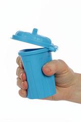 mini poubelle réduction des déchets