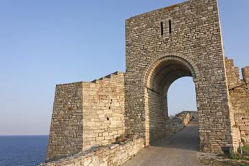 The medieval fortress of Kaliakra. Bulgaria