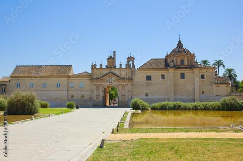 Monastery  Cartuja,  Sevilla,  Spain