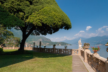 The famous garden of Villa Del Balbianello
