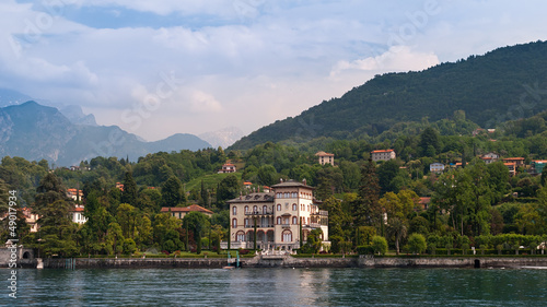 A view from beautiful Lake Como