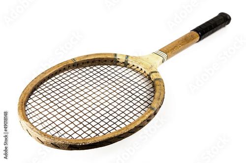 vintage tennis racquet