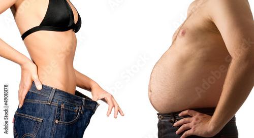 Leinwanddruck Bild Get fit couple