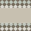 błękitny beżowy biały brąz podarty papier tło romby