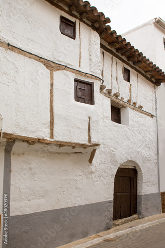 Cuenca Canete in Spain Castilla la Mancha white house