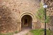 Canete Cuenca puerta San Bartolome stone fort Spain