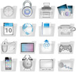 Web Ordner Symbol Icons